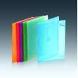 7MM单碟光面透明彩色DVD盒