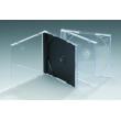 10.4MM单碟黑底CD盒