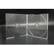 5.2MM双碟透明CD盒
