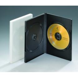 14MM双碟透明DVD盒