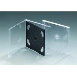 10.4MM双碟透明中板CD盒