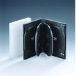 22MM6碟带夹片半透明DVD盒