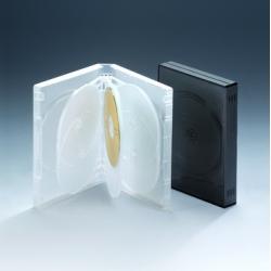 27MM8碟带夹片透明DVD盒
