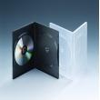 9MM双碟透明DVD盒
