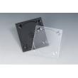 5MM单碟黑色CD托盘