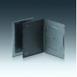 5MM单碟黑色DVD盒