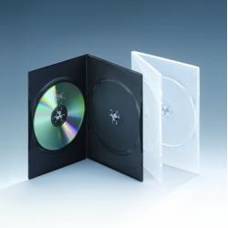 7MM双碟半透明DVD盒