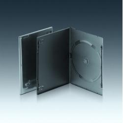 7MM单碟黑色入机DVD盒
