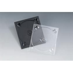 5MM单碟透明CD托盘
