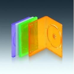 14mm Einzel-DVD-Fall (glatte klar)