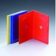 7MM双碟彩色DVD盒