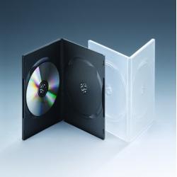 9MM双碟黑色DVD盒
